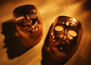 Forum Theatre - Role-play hell - actor masks