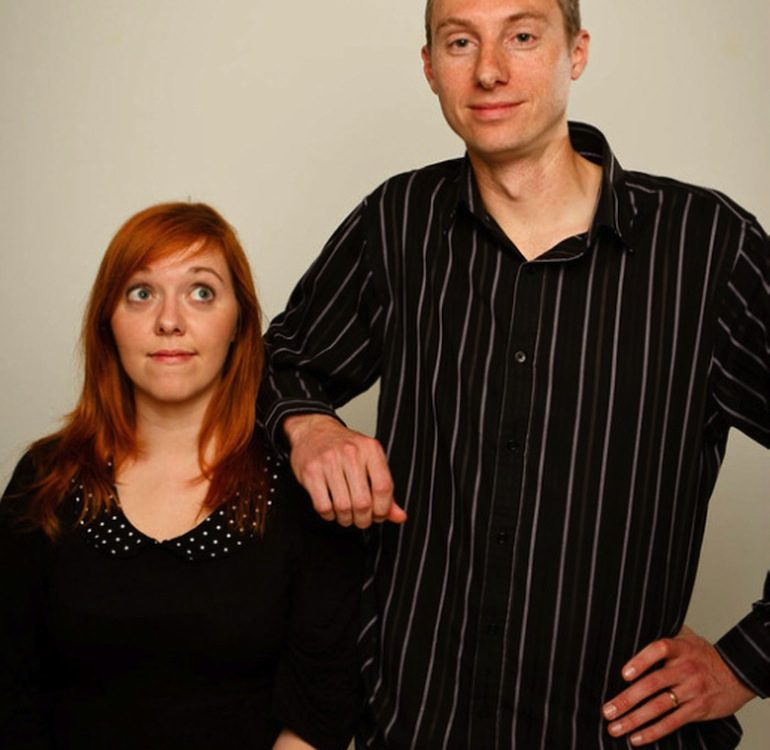 musical improviser - Samuel and Heather