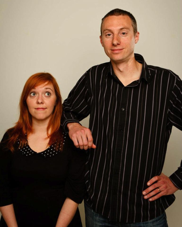musical improviser - Samuel and Heather